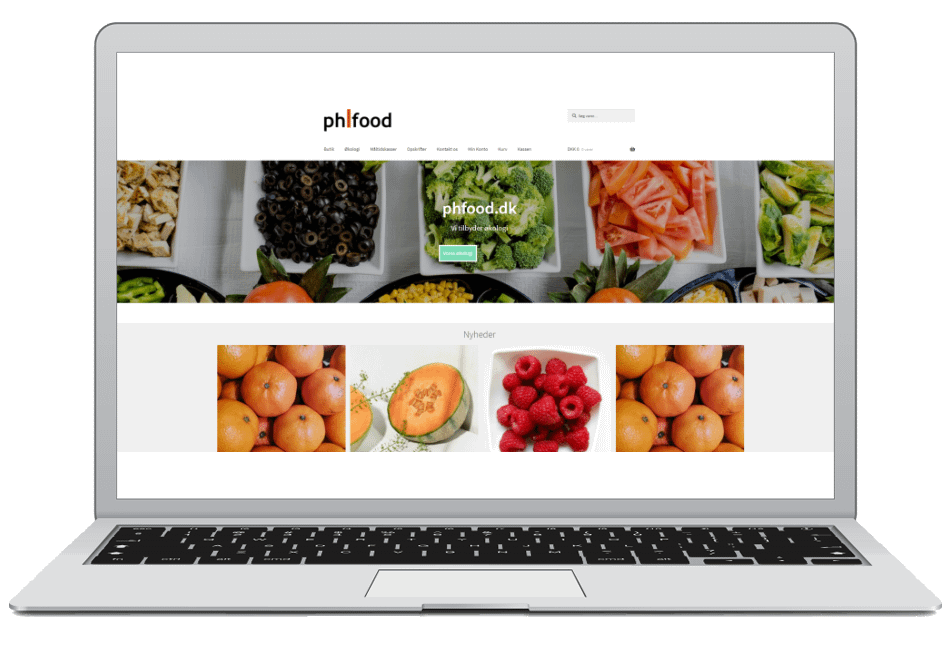 webshop med food